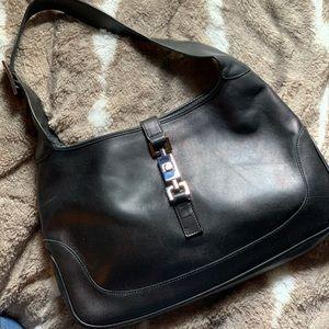 Authentic black Gucci vintage purse